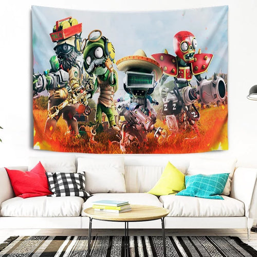 Plants vs Zombies #14 Wall Decor Hanging Tapestry Home Bedroom Living Room Decoration