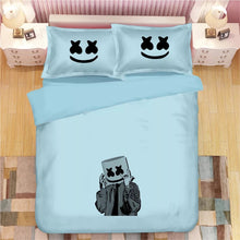 Load image into Gallery viewer, Fortnite Marshmello DJ #9 Duvet Cover Quilt Cover Pillowcase Bedding Set Bed Linen
