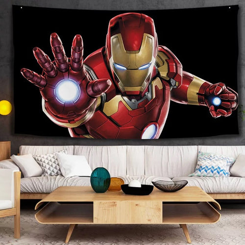 Iron Man Avengers #21 Wall Decor Hanging Tapestry Home Bedroom Living Room Decoration