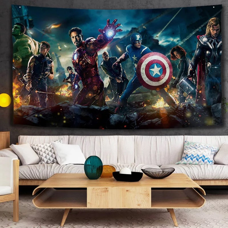Avengers Infinity War #24 Wall Decor Hanging Tapestry Home Bedroom Living Room Decoration