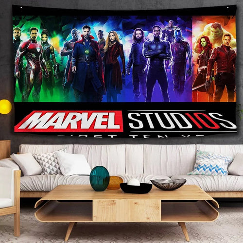 Avengers Infinity War #25 Wall Decor Hanging Tapestry Home Bedroom Living Room Decoration