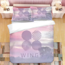 Load image into Gallery viewer, Kpop BTS Bangtan Boys Army A.R.M.Y  #7 Duvet Cover Quilt Cover Pillowcase Bedding Set