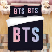 Load image into Gallery viewer, Kpop BTS Bangtan Boys Army A.R.M.Y  #11 Duvet Cover Quilt Cover Pillowcase Bedding Set