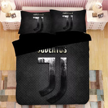 Load image into Gallery viewer, Juventus Football Club #1 Duvet Cover Quilt Cover Pillowcase Bedding Set