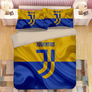 Juventus Football Club #4 Duvet Cover Quilt Cover Pillowcase Bedding Set