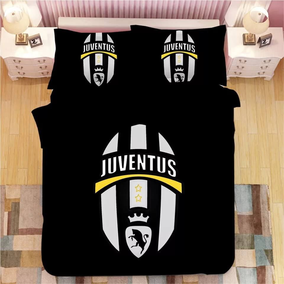 Juventus Football Club #7 Duvet Cover Quilt Cover Pillowcase Bedding Set