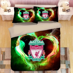 Liverpool Football Club #13 Duvet Cover Quilt Cover Pillowcase Bedding Set