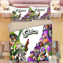 Load image into Gallery viewer, Splatoon #10 Duvet Cover Quilt Cover Pillowcase Bedding Set