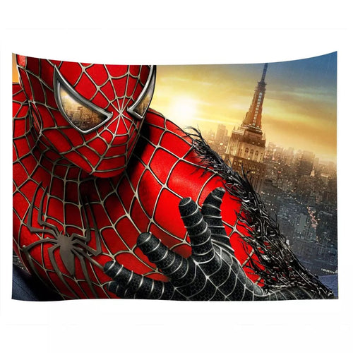 Spiderman #13 Wall Decor Hanging Tapestry Home Bedroom Living Room Decoration