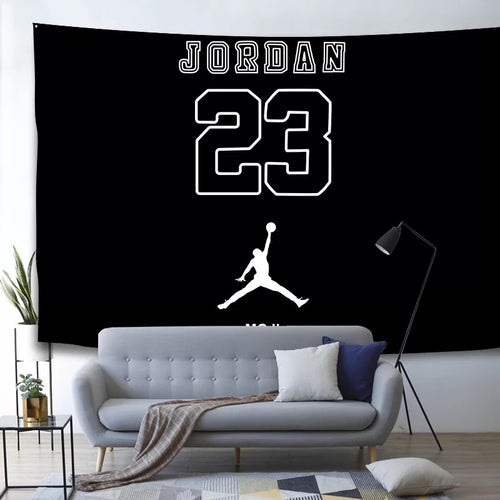 Basketball Michael Jordan Basketball  #15 Wall Decor Hanging Tapestry Home Bedroom Living Room Decorations
