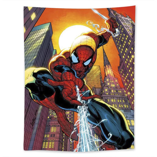 Spiderman #24 Wall Decor Hanging Tapestry Home Bedroom Living Room Decoration