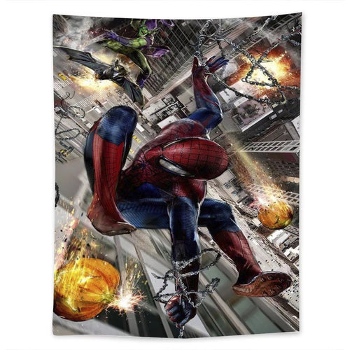 Spiderman #25 Wall Decor Hanging Tapestry Home Bedroom Living Room Decoration