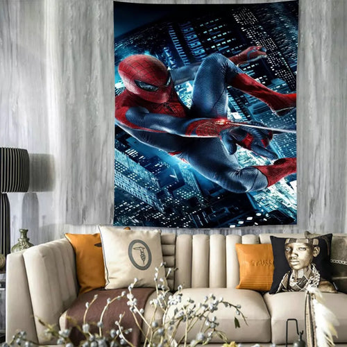 Spiderman #28 Wall Decor Hanging Tapestry Home Bedroom Living Room Decoration
