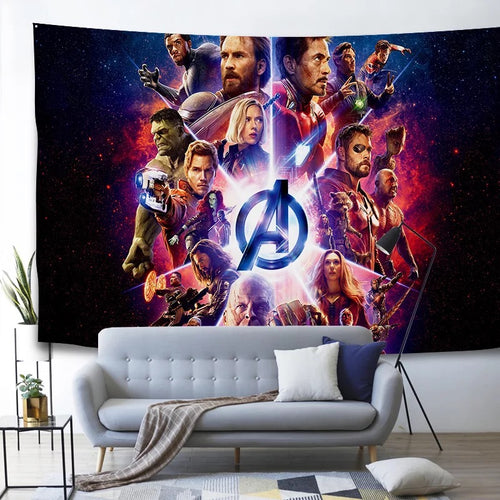 Marvel Avengers Endgame Infinity War Superhero #5 Wall Decor Hanging Tapestry Home Bedroom Living Room Decorations
