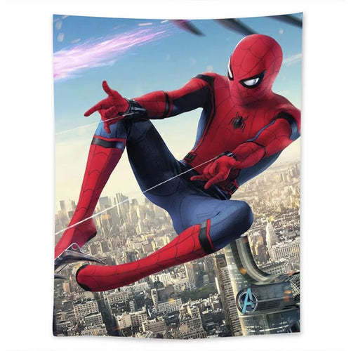 Spiderman #30 Wall Decor Hanging Tapestry Home Bedroom Living Room Decoration
