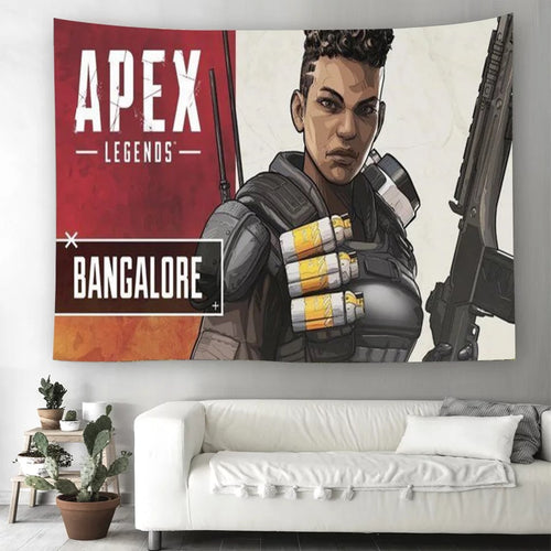 Apex Legends #2 Wall Decor Hanging Tapestry Home Bedroom Living Room Decoration