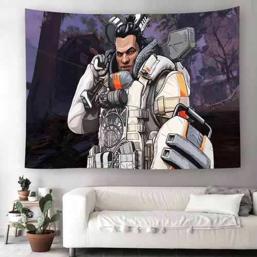 Apex Legends #10 Wall Decor Hanging Tapestry Home Bedroom Living Room Decoration