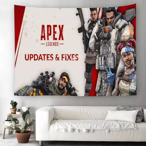 Apex Legends #16 Wall Decor Hanging Tapestry Home Bedroom Living Room Decoration