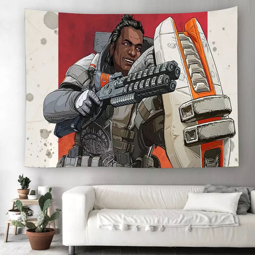 Apex Legends #17 Wall Decor Hanging Tapestry Home Bedroom Living Room Decoration
