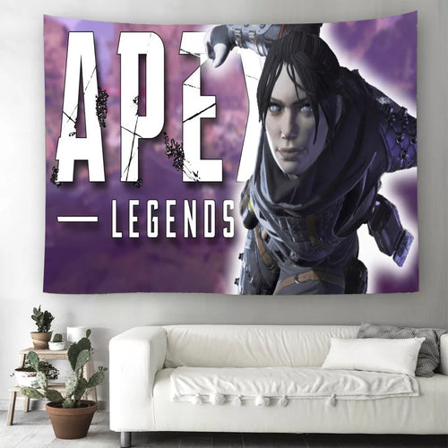Apex Legends #23 Wall Decor Hanging Tapestry Home Bedroom Living Room Decoration