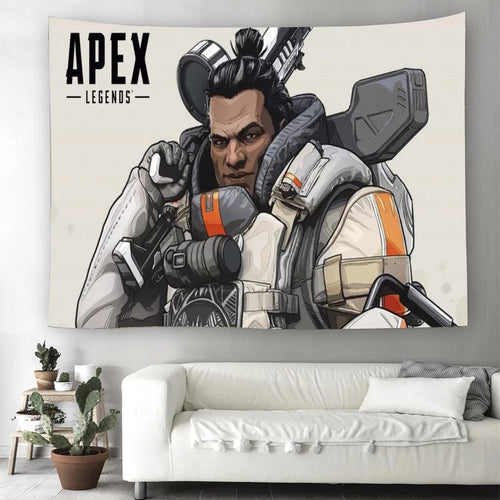 Apex Legends #24 Wall Decor Hanging Tapestry Home Bedroom Living Room Decoration