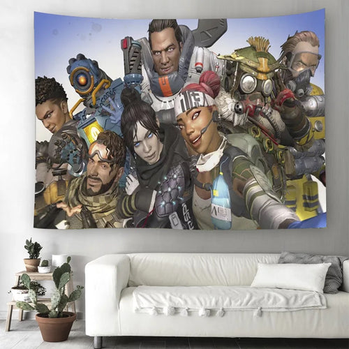 Apex Legends #25 Wall Decor Hanging Tapestry Home Bedroom Living Room Decoration