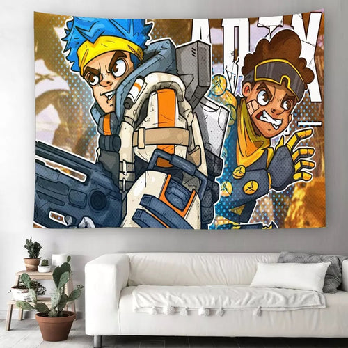 Apex Legends #26 Wall Decor Hanging Tapestry Home Bedroom Living Room Decoration