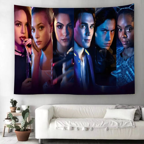 Riverdale #11  Wall Decor Hanging Tapestry Home Bedroom Living Room Decoration