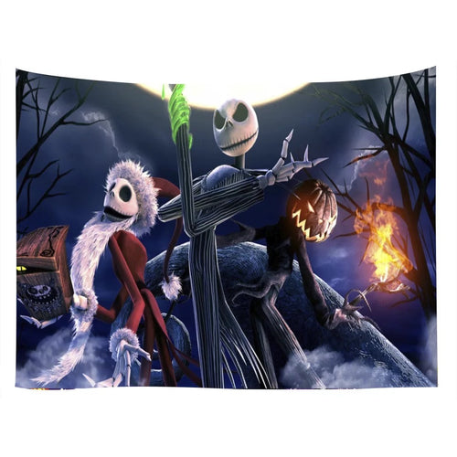 The Nightmare Before Christmas #3  Wall Decor Hanging Tapestry Home Bedroom Living Room Decoration