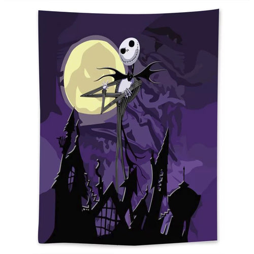 The Nightmare Before Christmas #5  Wall Decor Hanging Tapestry Home Bedroom Living Room Decoration