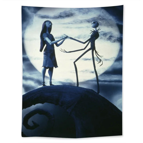 The Nightmare Before Christmas #6  Wall Decor Hanging Tapestry Home Bedroom Living Room Decoration
