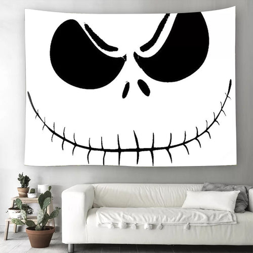 The Nightmare Before Christmas #13  Wall Decor Hanging Tapestry Home Bedroom Living Room Decoration