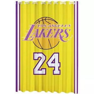 Basketball Los Angeles Lakers 24 Blackout Curtain for Living Room Bedroom Window Treatment