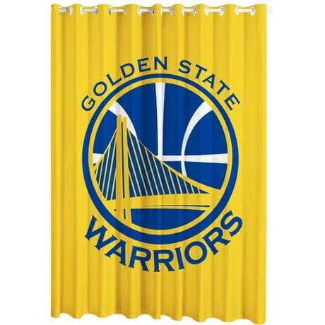 Basketball Golden State Warriors Blackout Curtain for Living Room Bedroom Window Treatment