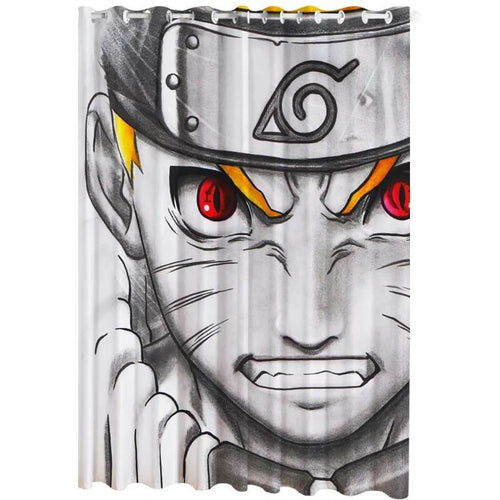 Anime Naruto Uzumaki Naruto #9 Blackout Curtains For Window Treatment Set For Living Room Bedroom