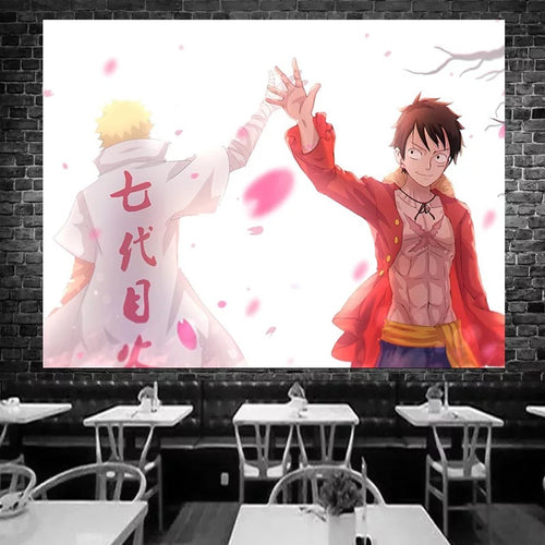 Anime Naruto Akatsuki #43 Wall Decor Hanging Tapestry Home Bedroom Living Room Decoration