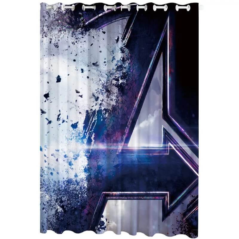 Avengers Endgame #1 Blackout Curtain for Living Room Bedroom Window