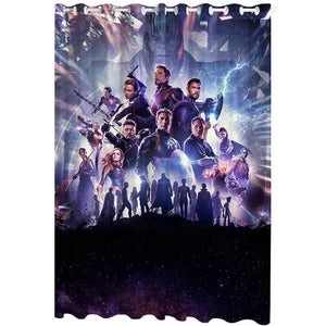Avengers Endgame #11 Blackout Curtain for Living Room Bedroom Window