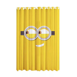 Despicable Me Minions #1 Blackout Curtains For Window Treatment Set For Living Room Bedroom