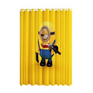 Despicable Me Minions #6 Blackout Curtains For Window Treatment Set For Living Room Bedroom