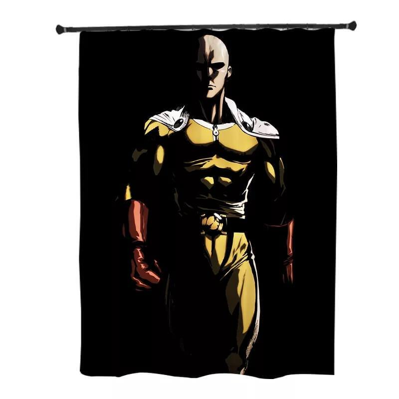 One Punch Man Saitama #1 Blackout Curtains For Window Treatment Set For Living Room Bedroom