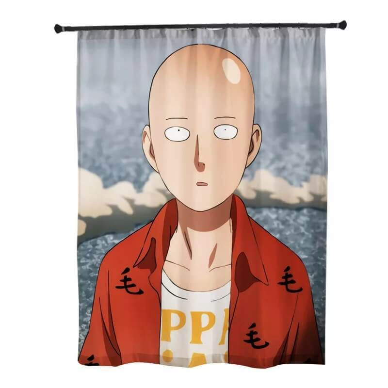 One Punch Man Saitama #6 Blackout Curtains For Window Treatment Set For Living Room Bedroom