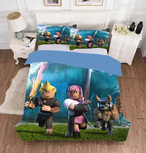 Load image into Gallery viewer, Roblox #1 Duvet Cover Bedding Set Pillowcase