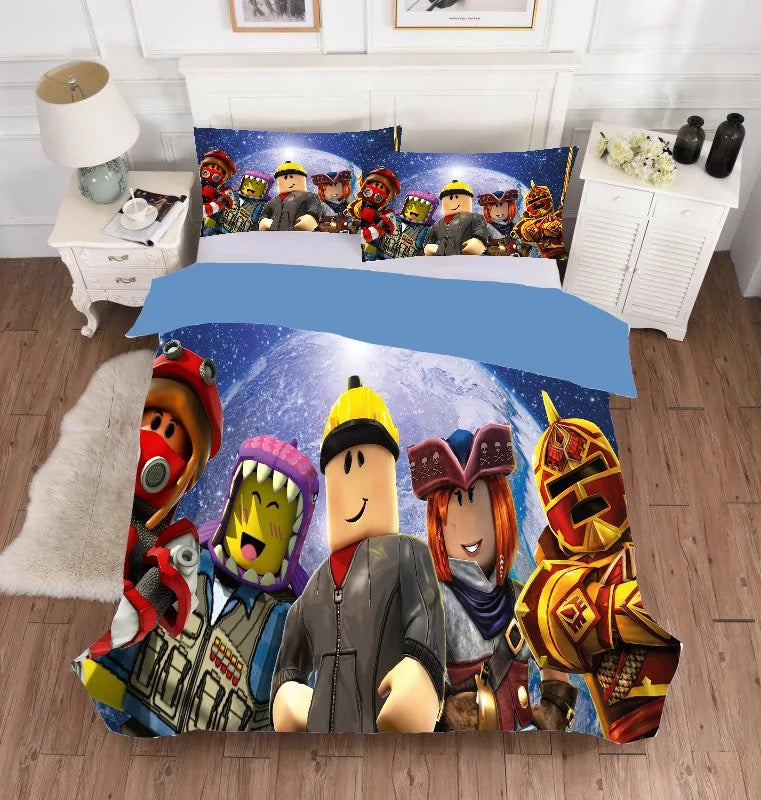 Roblox #4 Duvet Cover Bedding Set Pillowcase