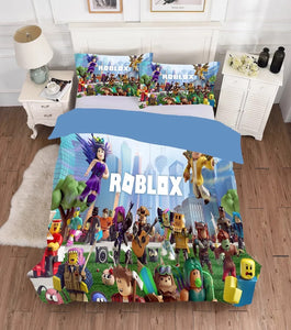 Roblox #8 Duvet Cover Bedding Set Pillowcase
