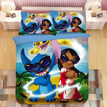 Load image into Gallery viewer, Lilo & Stitch #3 Duvet Cover Bedding Set Pillowcase