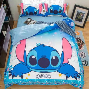 Lilo & Stitch #9 Duvet Cover Bedding Set Pillowcase