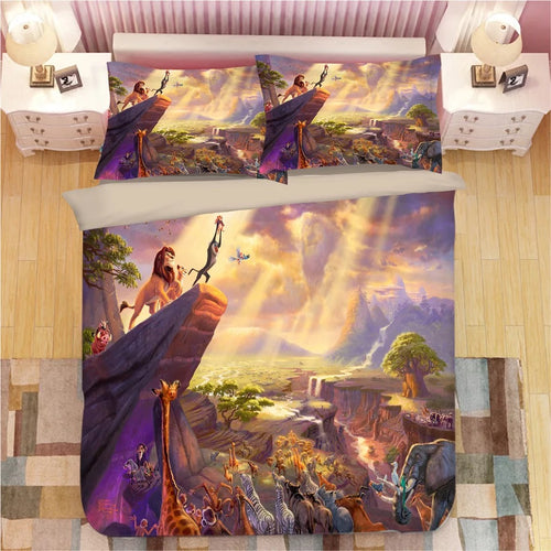 The Lion King Simba #1 Duvet Cover Bedding Set Pillowcase