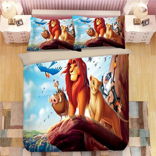 The Lion King Simba #3 Duvet Cover Bedding Set Pillowcase