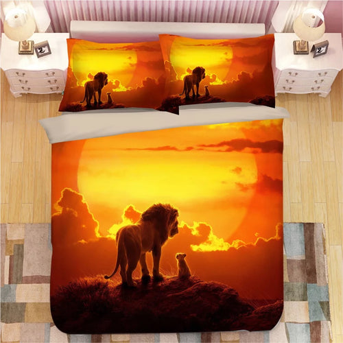 The Lion King Simba #4 Duvet Cover Bedding Set Pillowcase